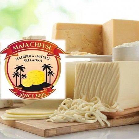 Maia's  Cheddar Cheese-250g Approx. (LKR310/= per 100g)