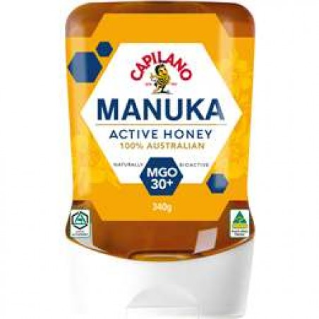 Capilano Manuka Active Honey MGO 30+ 340g