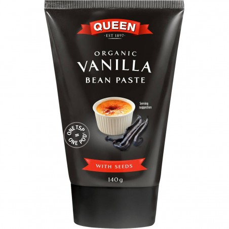 Queen Organic Vanilla Bean Paste 140g