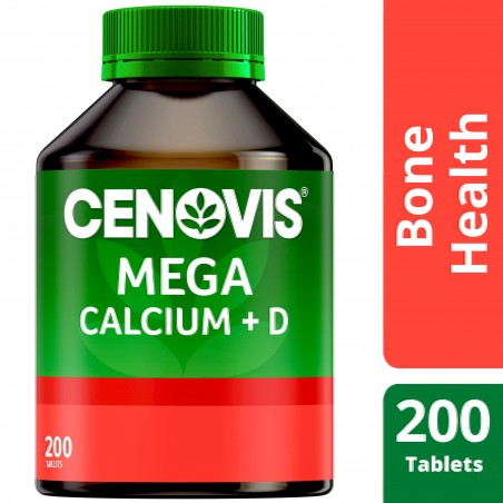 Cenovis Mega Calcium + D 200Tablets