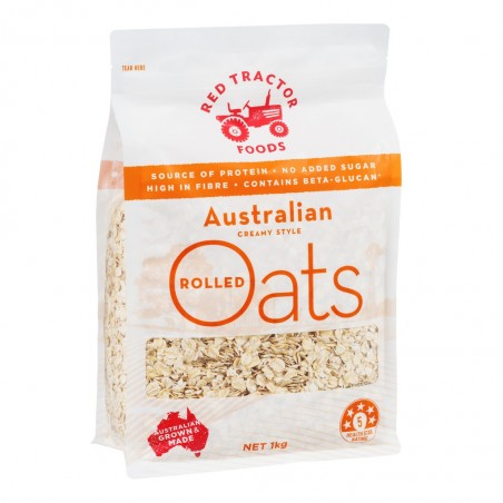 Red Tractor Foods Australian Creamy Style Rolled Oats 1Kg