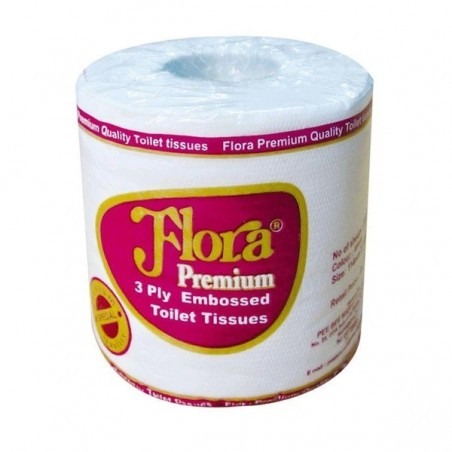 Flora 3 ply Toilet Roll