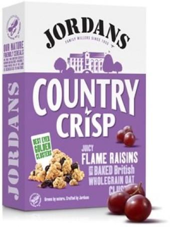 Jordans country crisp flame raisin 500g